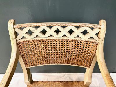 Regency Open Arm Chair