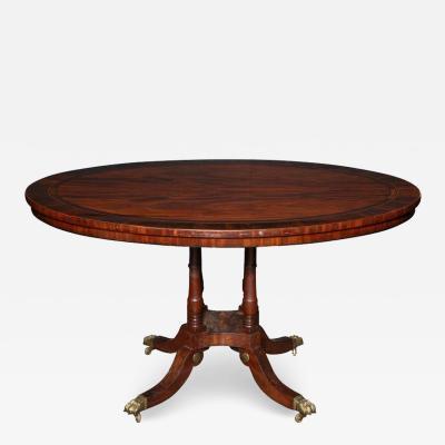 Regency Oval Centre Table