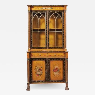 Regency Painted Cabinet