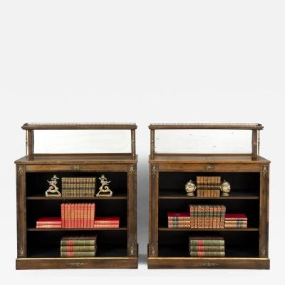 Regency Period Rosewood Bookcases