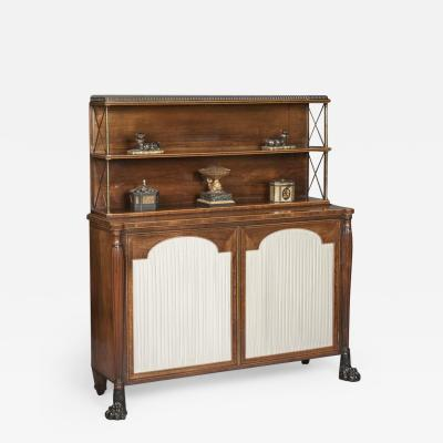 Regency Period Rosewood Chiffonier