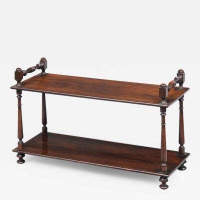 Regency Rosewood Desk Bookstand Circa 1810