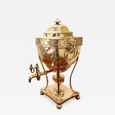 Regency Sheffield Silver Plate Hot Water Urn