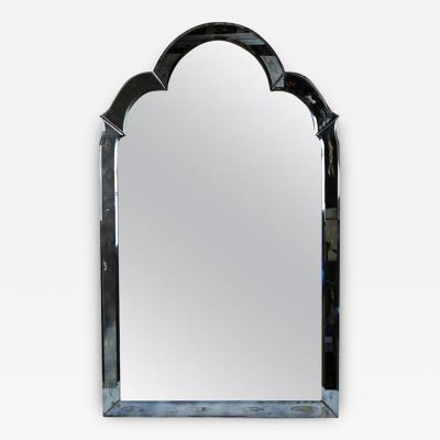 Regency Style Silver Wall Mirror