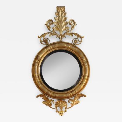 Regency period convex mirror of massive size