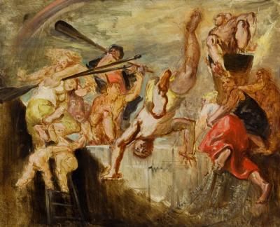 Reginald Marsh Summer at the Pier