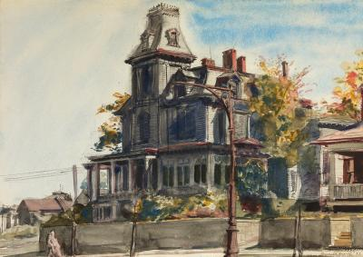Reginald Marsh Victorian House