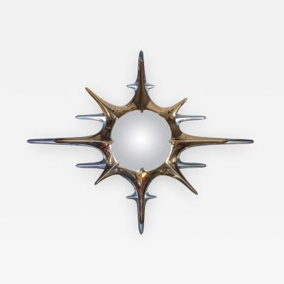 Regis Royant Huge Sunburst Mirror Designed by Regis Royant