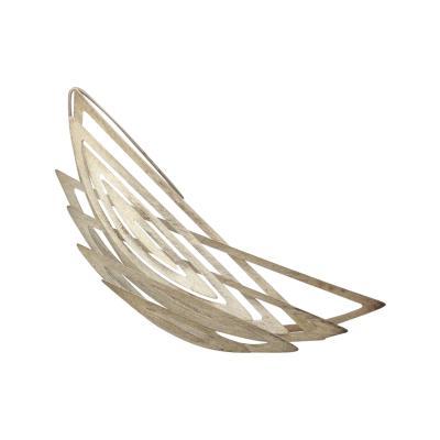 Reiko Ishiyama Reiko Ishiyama Modernist Sterling Silver Double Spiral Spring Pin