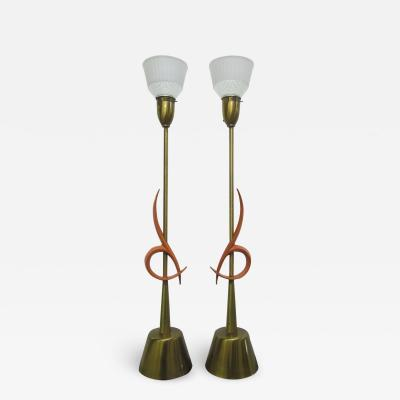 Rembrandt Lamp Company Pair of Large Rembrandt Table Lamps