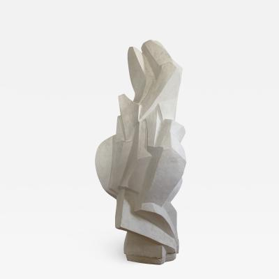 Ren Bascands MODERNIST SCULPTURE Plaster Study N 2