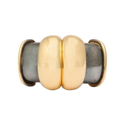 Ren Boivin Gold and Diamond Day Night Ring