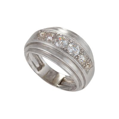 Ren Boivin Ren Boivin Art Deco Diamond and Platinum Ring