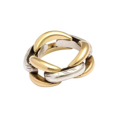 Ren Boivin Two Toned Ring by Rene Boivin