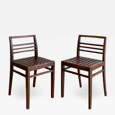 Ren Gabriel Pair of Ren Gabriel Chairs Model 103