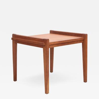 Ren Gabriel Rare Rene Gabriel Side Table in Solid Oak