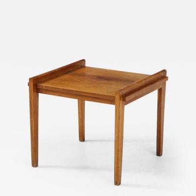 Ren Gabriel Ren Gabriel 1899 1950 Rare Model Oak Side table France c 1945