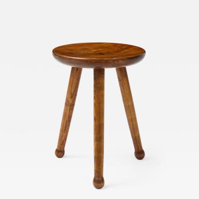 Ren Gabriel Style Low Table Stool France c 1950