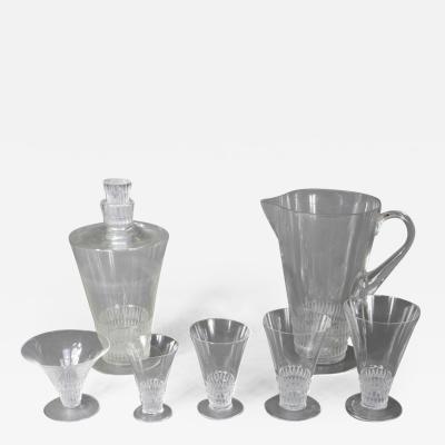 Ren Lalique Lalique Co A Bourgueil Glass Set Created By R Lalique In 1930