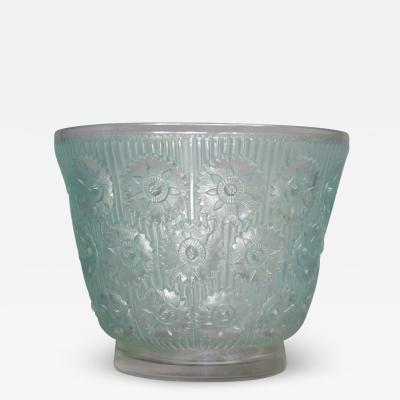 Ren Lalique Lalique Co An Edelweiss R Lalique Vase Made In 1937