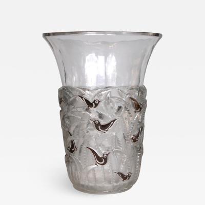 Ren Lalique Lalique Co An Enamelled Borneo Vase Designed In 1930 By R Lalique