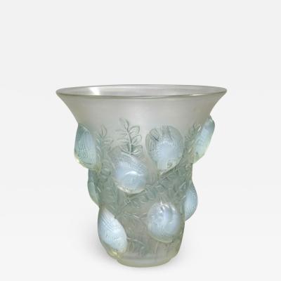 Ren Lalique Lalique Co An Opalescent Saint Fran ois Vase Designed By R Lalique In 1930