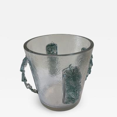 Ren Lalique Lalique Co Champagne Bucket by Ren Lalique 1860 1945 France Art D co 1930s