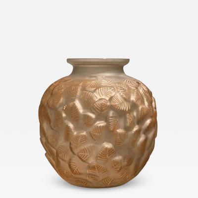 Ren Lalique Lalique Co Charmille vase by R Lalique