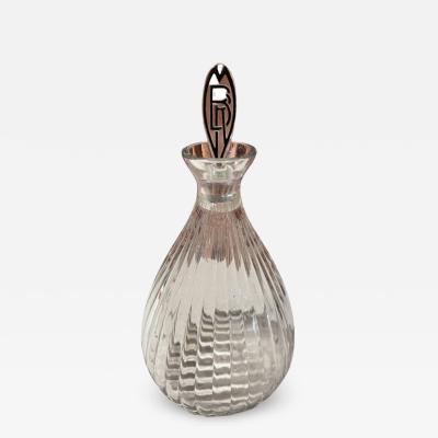 Ren Lalique Lalique Co Lalique Art Deco Decanter for Marie Brizard Liqueur