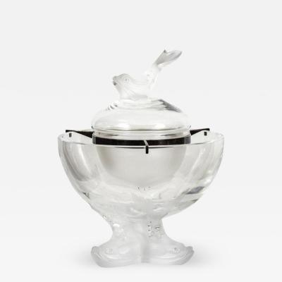 Ren Lalique Lalique Co Lalique Caviar Bowl Igor