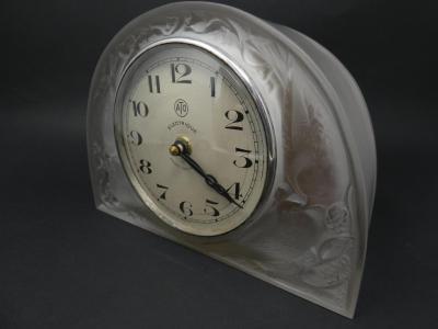 Ren Lalique Lalique Co Ren Lalique Glass Moineaux Sparrows Clock
