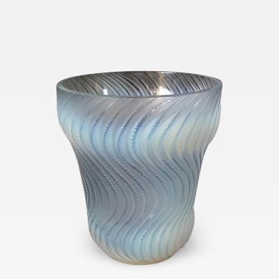 Ren Lalique Lalique Co Ren Lalique Opalescent Glass Actinia Vase