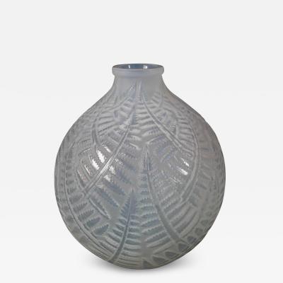 Ren Lalique Lalique Co Ren Lalique Opalescent Glass Espalion Vase