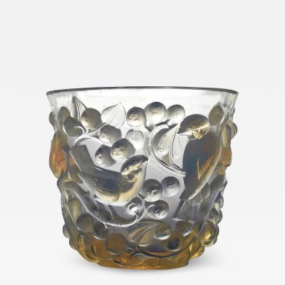 Ren Lalique Lalique Co Rene Lalique Avallon Vase C 1930