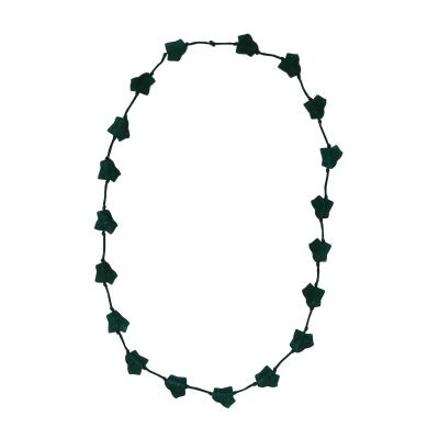 Ren Lalique Lalique Co Rene Lalique Green Glass Feuilles De Lierre Necklace