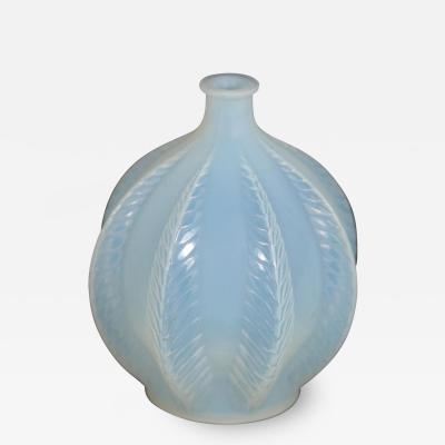 Ren Lalique Lalique Co Rene Lalique Opalescent Glass Malines Vase