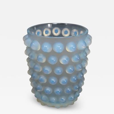 Ren Lalique Lalique Co Rene Lalique Opalescent Glass Mossi Vase