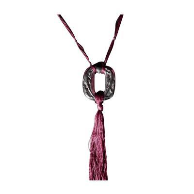 Ren Lalique Lalique Co Rene Lalique Plum Glass Lezards Pendant