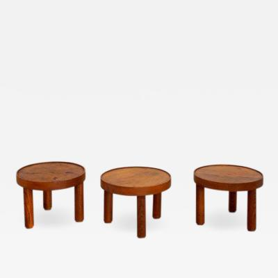 Ren Legrand MADO JOLAIN AND RENE LEGRAND SET OF 3 TABLES