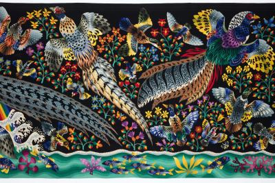 Ren Perrot Amazing tapestry by Ren Perrot La grande cascade