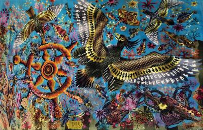 Ren Perrot Et Pinton Fr res Tapestry Circa 1960