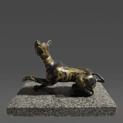 Renaissance Bronze Greyhound 17th century