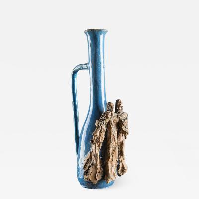 Renato Bassoli Ceramic Bottle by Renato Bassoli