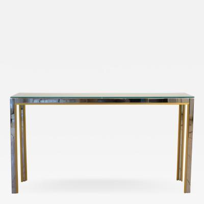 Renato Zevi Console Table by Renato Zevi for Romeo Rega 1970s