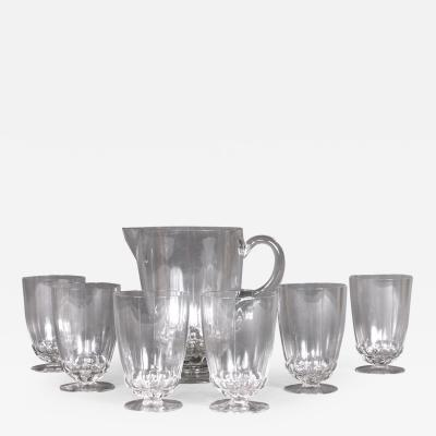 Rene Lalique A Blois Orangeade Set By R Lalique Made In 1930