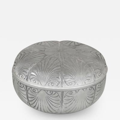 Rene Lalique A Coquilles Box Designed By R Lalique In 1920