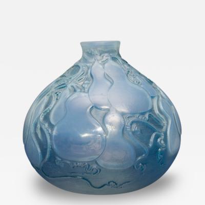Rene Lalique Vase Courges