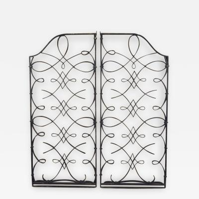 Rene Prou Attributed to Rene Prou and Raymond Subes Pair of Grilles Gates