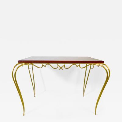 Rene Prou Ren Prou Wrought Iron Table