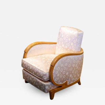 Rene Prou Rene Prou Single Art Deco Club Chair